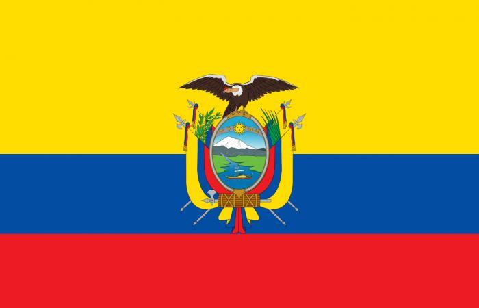 Flag Ecuador